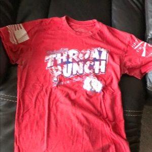 Throat punch t shirt